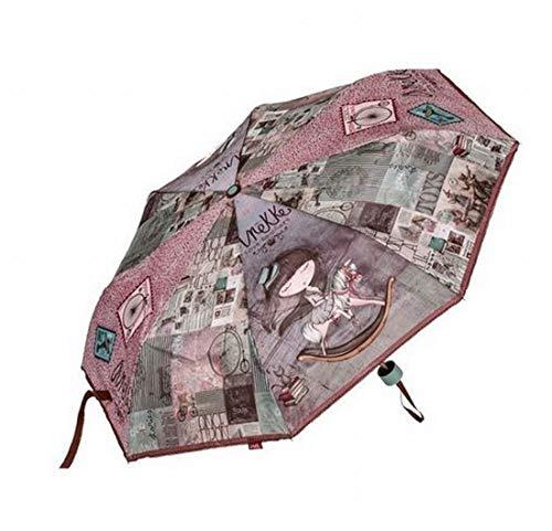 Paraguas Plegable Anekke Medidas Manual: 25cm Largo