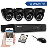 Best Security Systems - [TRUE 1080p] SANSCO 4 Channel FHD CCTV Camera Review