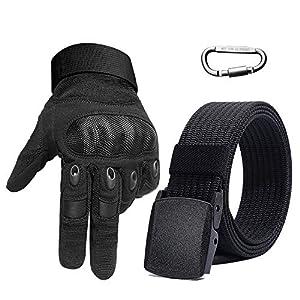 MILALOKO Mimicool Gants de Plein air pour Homme Gants Anti-d/érapants r/ésistants /à lusure couvrants la totalit/é du Doigt pour v/élo Moto