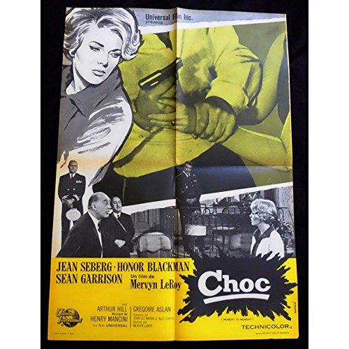 choc-affiche-de-film-60x80-1965-honor-blackman-mervyn-leroy