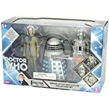 Underground Toys 5-Inch Enemies of The First Doctor Collectors Set Dr. Who AF Set