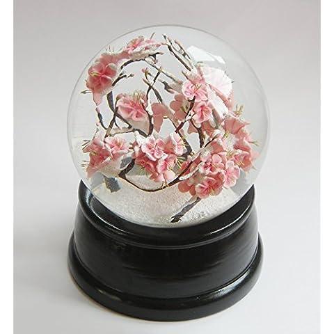 Hecho a mano de Sakura de bola de nieve (más de 100 mm de cúpula de versión)