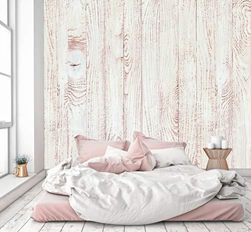 murimage Papel Pintado Madera Pastel 274 x 254 cm Incluyendo Pegamento Fotomurales /óptico 3D mar/ítimo Pared Tabla Vintage Panel Dormitorio Oficina