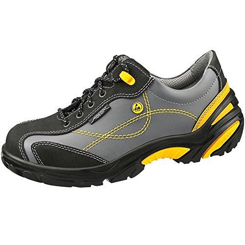 Abeba 34222-36 Tamanho 91,4 Centímetros De Lagartas Sapatos Baixa Segurança Cinza / Amarelo