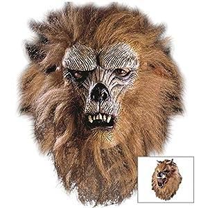 Widmann - Máscara para disfraz de adulto lobo (4578W) , Modelos/colores Surtidos, 1 Unidad