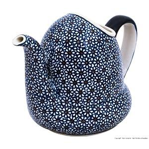 Bunzlauer Keramik Ceramic Watering Can V = 1.0L in the decor 120