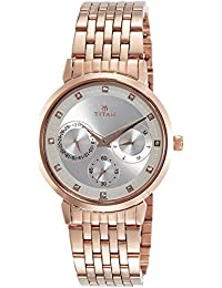 Titan Neo Analog Beige Dial Women's Watch-2569WM02