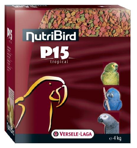 Versele Laga - NUTRIBIRD P15 Tropical - Nourriture pour oiseaux - 1 x 4kg