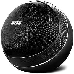 Enceinte Bluetooth 40W, COMISO HomeAudio Hi-FI Haut-Parleur Bluetooth sans Fil Subwoofer, Définition Stéréo, True Wireless Stéréo, Mains Libres Téléphone pour iPhone, Samsung, iPad, Tablettes (Noir)