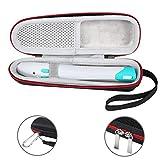 Tasche Etui mit Karabiner für bite away - Elektronischer Stichheiler Schutztasche (Schwarz/Grau) von Bertasche