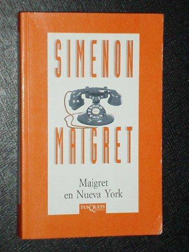 Maigret en nueva york por Simenon Maigret