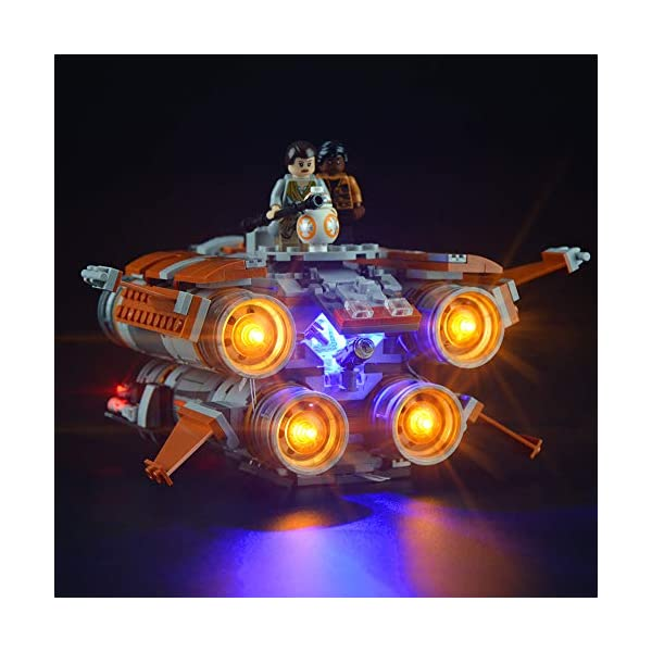 Lightailing Set di Luci per (Star Wars Quadjumper Di Jakku) Modello da costruire - Kit luce led compatibile con Lego… 1 spesavip