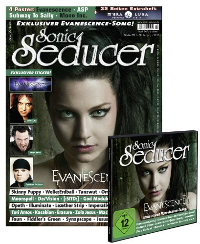 Sonic Seducer 10-11 + exklusiver Evanescence-Song, -Sticker & -Poster + Beilage: M Era Luna Festival 2011 + CD; Bands: Subway To Sally, Straftanz, Fiddler's Green u.v.m.