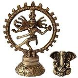 Dancing Shiva Natraj Brass Estatua Escultura