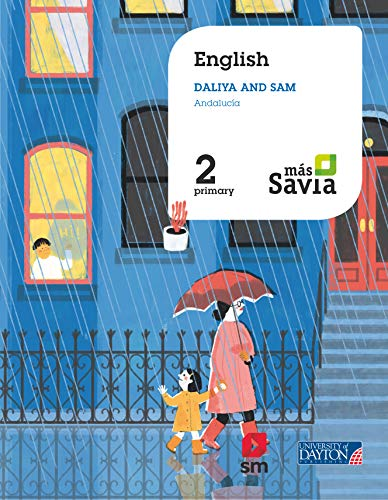 English Sam and Daliya 2 Primary Más Savia Andalucía