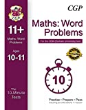 10-Minute Tests for 11+ Maths: Word Problems (Ages 10-11) - CEM Test