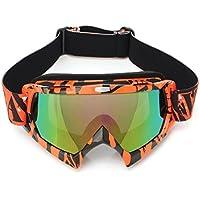 AUDEW Viso Occhiali da sole di protezione maschera Occhialoni moto per attivita esterna Motocicletta / Cross / ATV / Sci / Motociclo / Bicicletta Google Anti-UV Antinebbia U815 len colorato