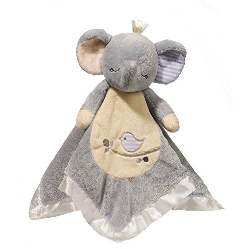 Cuddle Toys 1411 Elephant LIL' SNUGGLER Elefant Kuscheltier Plüschtier Stofftier Plüsch Spielzeug Baby Schmusetuch Schnuffeltuch (Baby Decke Trim)