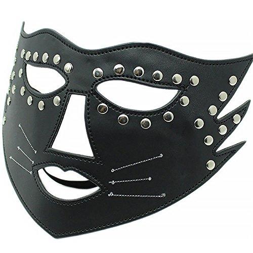 XO-MOK Katze Frau Sexy Maske Schwarzes Bett Set Männer Frauen Cosplay Paar Spielen Spielzeug Personalisierte Kostüm