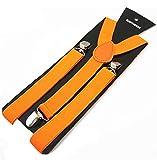 Krystle Men Y-Back Suspender (Orange)