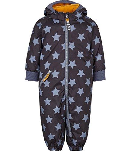 Racoon Baby-Jungen Anton Star Wassersäule 9.000 Schneeanzug, Mehrfarbig (Flint Stone FLI), 86
