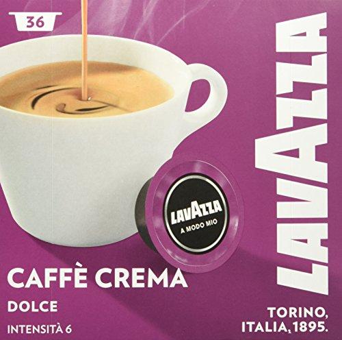 Lavazza A Modo Mio Caffe Crema Dolce 36 Kapseln, 1er Pack (1 x 288 g)
