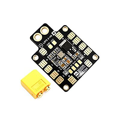 LaDicha Matek Systems PDB-XT60 W/BEC 5V & 12V 2oz Copper for RC Drone FPV Racing Multi Rotor