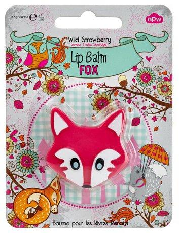 Lipbalm Fox Wild Strawberry Rose
