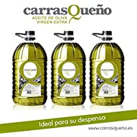 Caja 3 Garrafas 5 litros Carrasqueño Aceite de Oliva Virgen Extra - Garrafa 5L AOVE