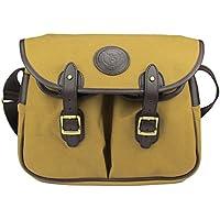 tourbon Vintage Fly Fishing Tackle Custodia Tracolla Gear–Borsa da spalla in tela e pelle