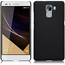 """TopAce High quality hard cover caso + Protector de pantalla para Huawei Honor 7 de 5.2"""" pulgadas (Negro)"""