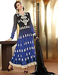 Hypnotex Designer Georgette Semi Stitch dress