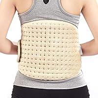 SYR&M Elektrische Heizung Pad Wärmer Taille 6 Temperaturstufen Wärmt Bauch Lumbale Disketten-Taillen Schmerz-Entlastung preisvergleich bei billige-tabletten.eu