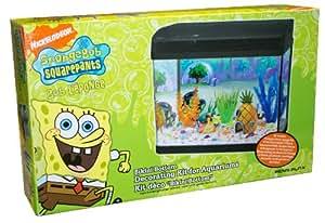 Penn Plax SBDK1 SpongeBob Aquarium Dekorations Kit
