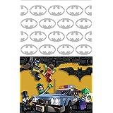 "Amscan International–5717091,2x 1,8m ""Batman Lego"" plástico Funda para mesa"