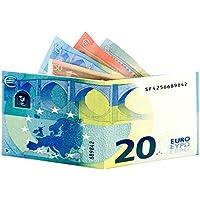 Paper wallet 20 Euro - Portafoglio 20 Euro - Antistrappo - Leggerissimo - Water resitent - Slim - Fatto in pretex laminato opaco - No Tyvek - Prodotto in attesa di brevetto
