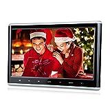 Pumpkin CH1011B - Reproductor DVD CD MP4 MP3 Pantalla para Reposacabezas de Coche( 10.1' HD Pantalla, Botón...