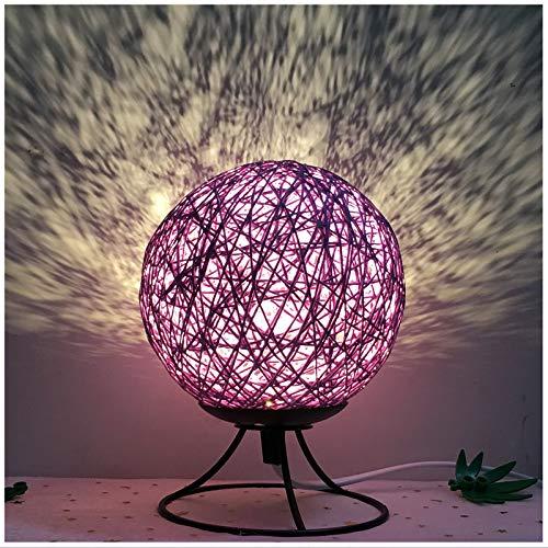 Lampada da tavolo regalo moderna moderna creativa palla da notte luce comodino camera da letto moda arte romantica decorazione dimm