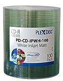 Plexdisc, CD-R, 100pezzi, 52x, 700MB