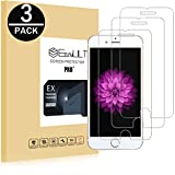 EasyULT Verre Trempé iPhone 6S[3-Pièces], iPhone 6/iPhone 6S Film Protection Écran Protecteur d'écran Vitre Tempered Glass Screen Protector