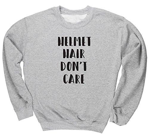 HippoWarehouse  Herren Sweatshirt Gr. Large, grau (Sweatshirt Browning Baumwolle)