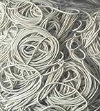1 kg Gummiringe weiß 40 mm Ø 1,2 x 1,2 mm breit