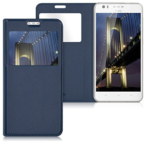 kwmobile HTC Desire 10 Lifestyle Hülle - Handyhülle für HTC Desire 10 Lifestyle - Handy Case Schutzhülle Klapphülle