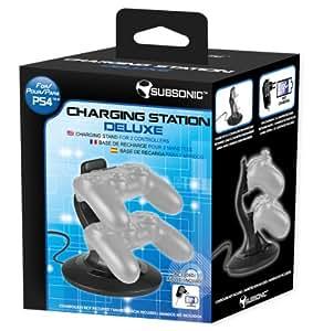 Station de recharge deluxe pour PS4
