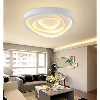 XMZ Soffitto moderni lampadari di luce Luce per soggiorno, sala da pranzo,CorridorAcrylic 630mm ...