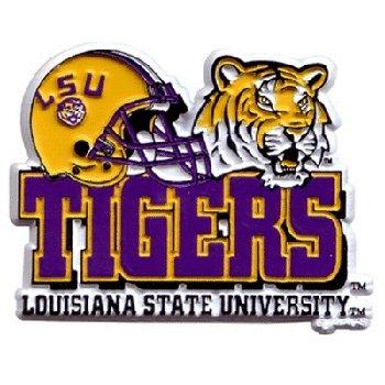 NCAA LSU Fightin Tigers 2D Helmet Magnet