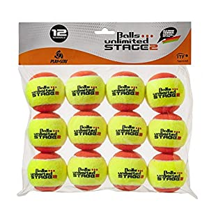 Balls … unlimited Stage 2 (orange) Kinderbälle, Trainingsbälle 50% Druckreduziert, Methodikbälle – 12er Pack