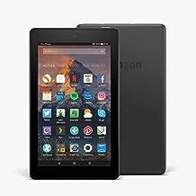 """Nouvelle tablette Fire 7, écran 7"""" (17,7cm), 8Go (Noir) - avec offres spéciales"""