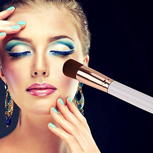 Domybest 1pièce Brosse pour le visage Multipurpose Fond de teint liquide Brosse Premium Outil de maquillage