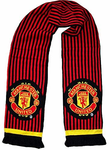 Bufanda del Manchester United(productooficial, longitud140cm, diseño en ambas caras)